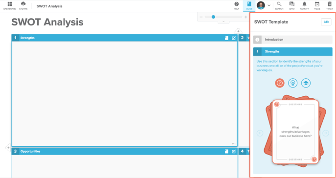 Guide Panel Screenshot