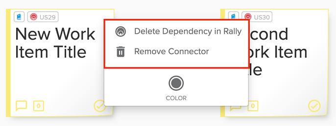 Rally Delete Options Highlighted Screenshot