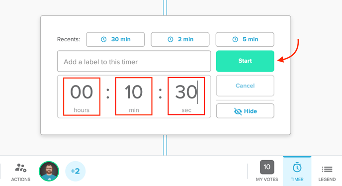 Timer - Editing the Custom Time Screenshot-1